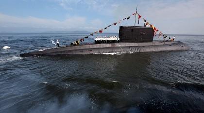 Tàu ngầm Nga lần đầu phóng tên lửa đánh IS