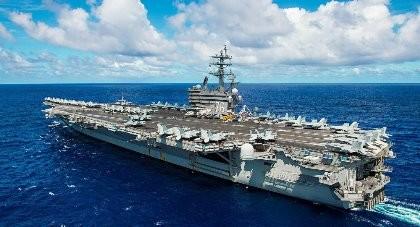 Tàu ngầm Trung Quốc tấn công giả định tàu sân bay Mỹ