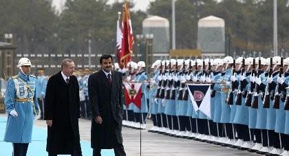 Thổ Nhĩ Kỳ tính đóng hàng ngàn quân tại doanh trại mới ở Qatar