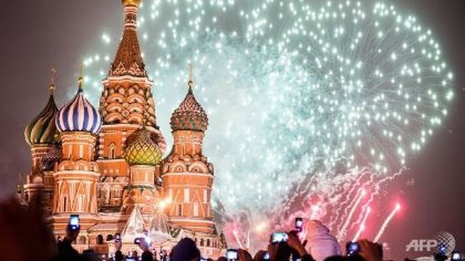 Nga đóng cửa Quảng trường Đỏ trong đêm giao thừa