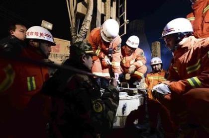 Sập hầm ở Trung Quốc: Tìm thấy tám người sống sót sau năm ngày mắc kẹt