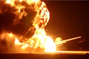 Xuất hiện video máy bay ném bom Tu-95 Nga nổ trên đường băng