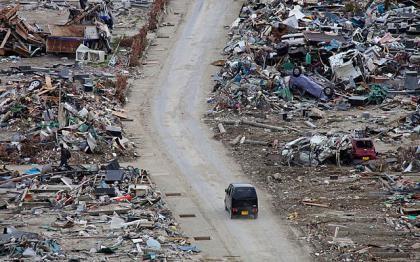 Nhiều tài xế Nhật thừa nhận gặp 'khách ma' trong thảm họa 2011
