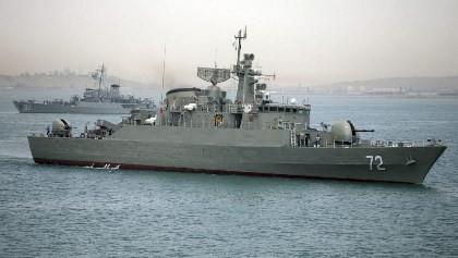 Iran 'đuổi' tàu Mỹ ra khỏi khu vực tập trận