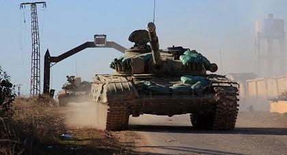 Hơn 300 quân khủng bố bị tiêu diệt trong một trận đánh ở Syria