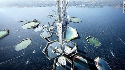 Tokyo chuẩn bị xây dựng tòa tháp chọc trời cao 1,6 km