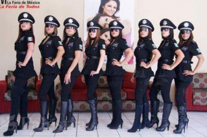 Mexico giải tán đơn vị cảnh sát nữ 'gợi cảm nhất thế giới'