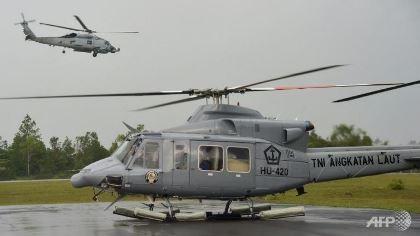 Rơi trực thăng quân sự ở Indonesia, 12 người thiệt mạng