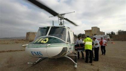 Trực thăng cứu thương Iran rơi, 10 người thiệt mạng