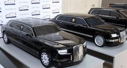 Tổng thống Putin sắp nhận xe limousine 'khủng'