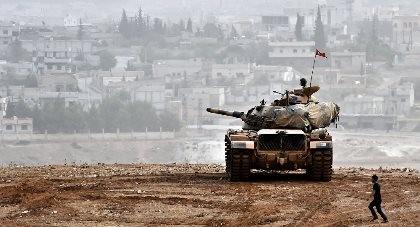100 lính đặc nhiệm Thổ Nhĩ Kỳ tiến vào Syria