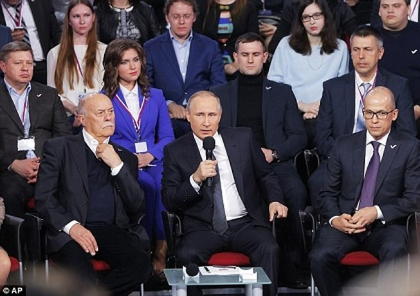 Tổng thống Putin chỉ đích danh Mỹ đứng đằng sau vụ 'Tài liệu Panama'