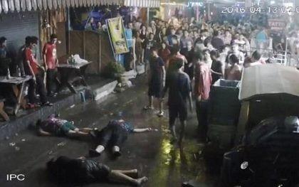 3 du khách Anh bị đánh ngất xỉu tại Thái Lan