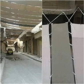 IS phủ bạt toàn thành trì Raqqa để tránh bị theo dõi