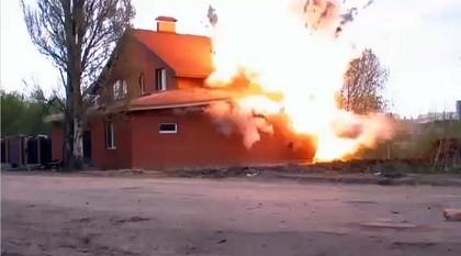 Nga cho nổ tung nhà thờ Hồi giáo chứa bom