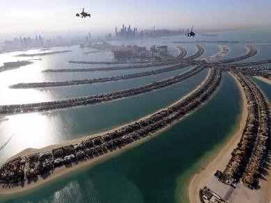 UAE lên kế hoạch táo bạo xây núi để tăng lượng mưa