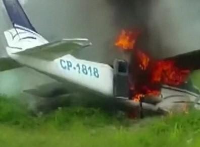 Máy bay chở 70 kg cocain bị bắn hạ