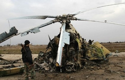 IS tuyên bố bắn hạ máy bay quân sự Syria