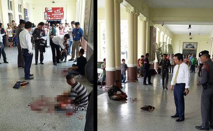 Nổ bom nhà ga Thái Lan, 2 người bị thương