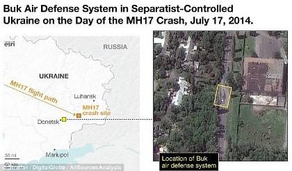 Rộ thêm bằng chứng tên lửa Nga bắn rơi máy bay MH17