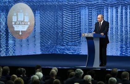 Tổng thống Putin thừa nhận Mỹ là siêu cường duy nhất