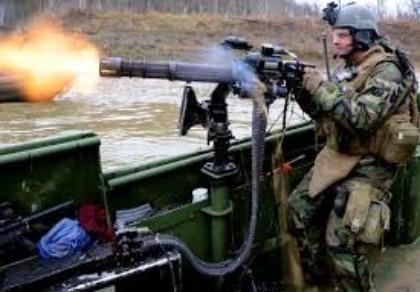 Triều Tiên trang bị súng máy của Mỹ cho tàu tuần tra
