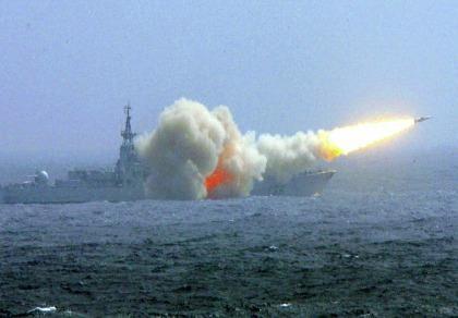 Trung Quốc dùng 'tên lửa thật' tập trận ở Hoàng Sa