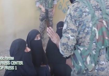 Bắt sống phiến quân IS giả gái để tẩu thoát khỏi Manbij