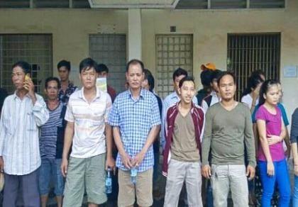 32 người Việt cư trú bất hợp pháp bị tạm giữ tại Campuchia