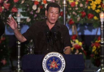 Mỹ 'nổi đóa' với bình luận của Tổng thống Philippines