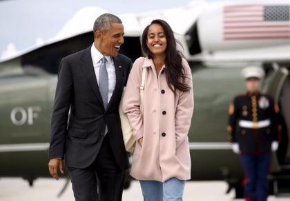 Con gái Tổng thống Obama bị tố hút cần sa