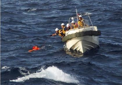 Tàu cá Trung Quốc bị chìm ở biển Hoa Đông
