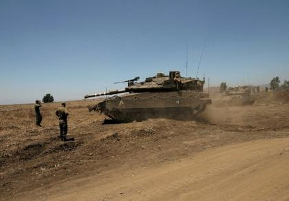 Israel không kích trả đũa Syria vì bị trúng đạn cối