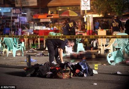 Nổ chợ đêm ở Philippines, 12 người thiệt mạng