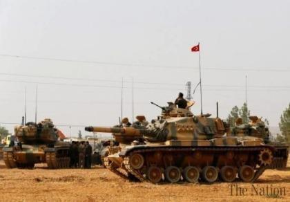 IS phóng tên lửa, bắn nổ tung 2 xe tăng Thổ Nhĩ Kỳ