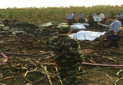 Trung Quốc: Máy bay rơi khi biểu diễn, 4 người thiệt mạng
