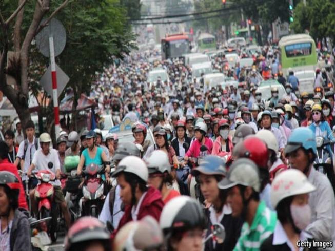 Báo nước ngoài ví giao thông Việt Nam như ác mộng
