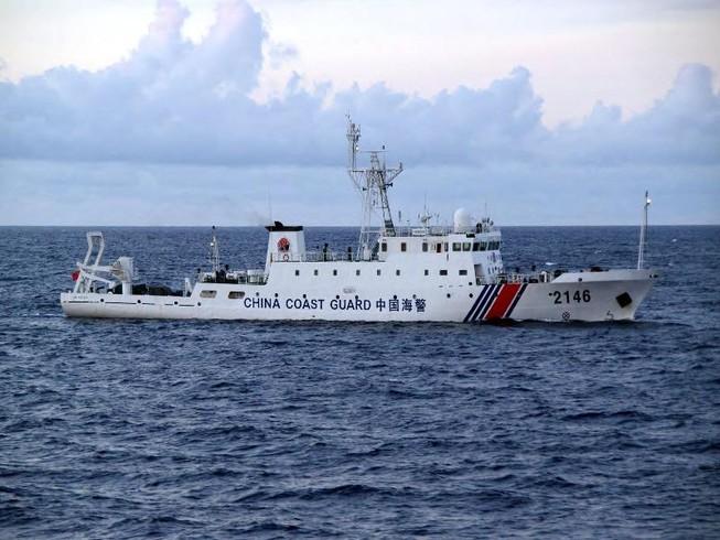 Tàu hải cảnh Trung Quốc có thể gây xung đột biển Đông