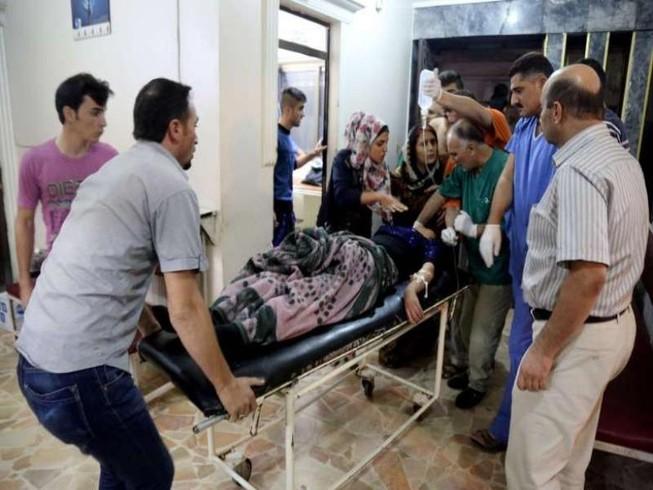 Nổ bom lúc cô dâu chú rể trao nhẫn cưới, 22 người chết