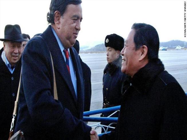 Phái đoàn Mỹ bí mật thăm Triều Tiên