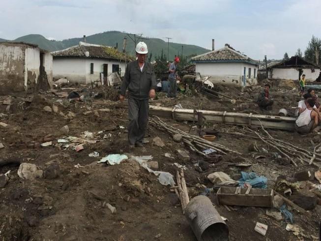 Triều Tiên bắt 20 quan chức sau trận lũ kinh hoàng