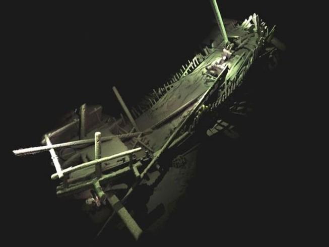 Phát hiện hạm đội 'tàu ma' dưới đáy Biển Đen
