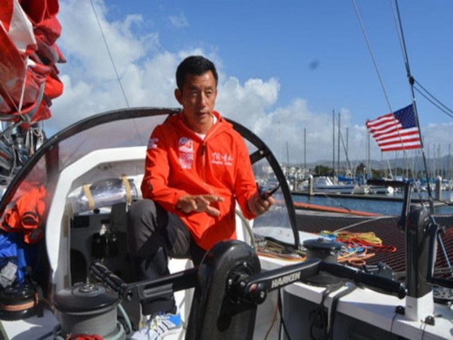 Một mình vượt đại dương, thủy thủ Trung Quốc mất tích
