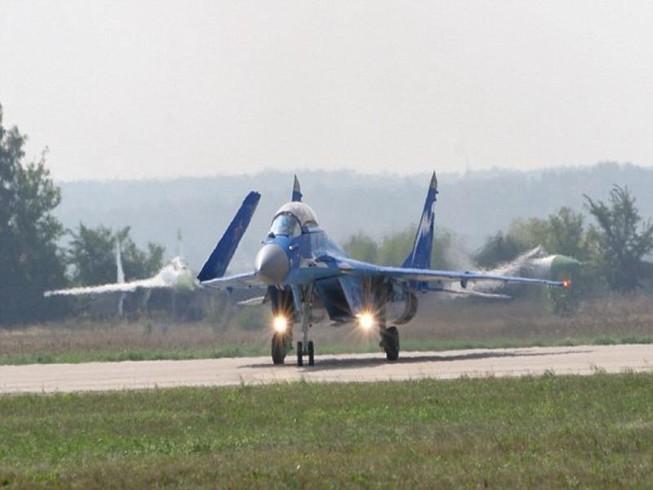 Tiêm kích Nga rơi gần tàu sân bay ở Địa Trung Hải