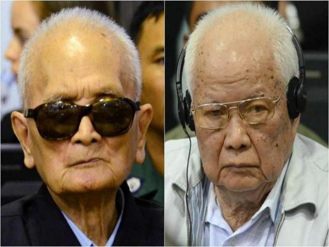 Y án tù chung thân cho 2 cựu lãnh đạo Khmer Đỏ