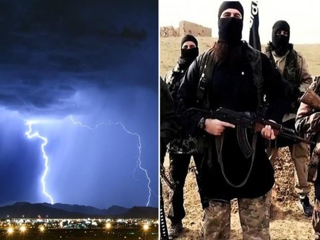 32 thành viên IS thiệt mạng vì… mưa