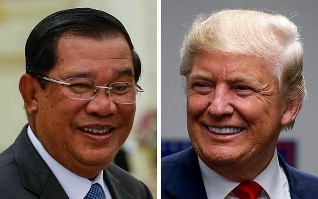 Thủ tướng Hun Sen yêu cầu Trump xóa nợ cho Campuchia