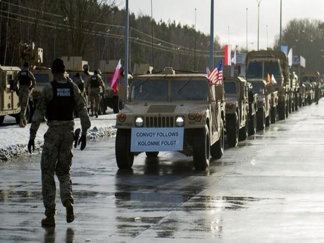 'Mỹ điều quân tới Ba Lan đe dọa an ninh Nga'