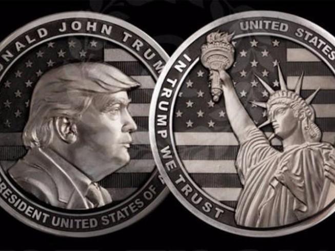 Công ty Nga làm đồng xu tân Tổng thống Donald Trump