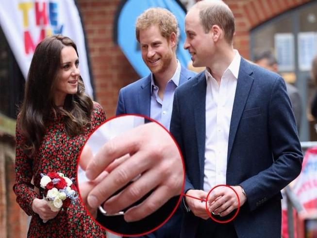Lý do bất ngờ việc Hoàng tử William không đeo nhẫn cưới